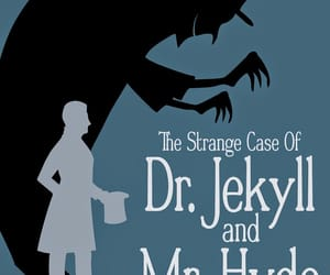 book, mr. hyde, and dr. jekyl image