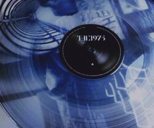 blue, aesthetic, and music image