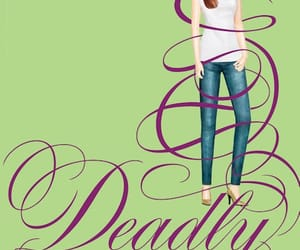 allison, book, and deadly image