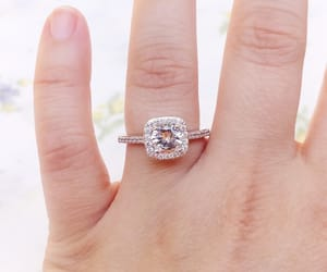 bridal, diamond, and jewelry image