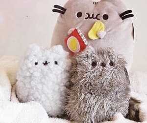 adorable, grey, and plushies image