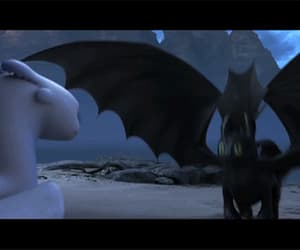 gif, toothless, and how to train your dragon image