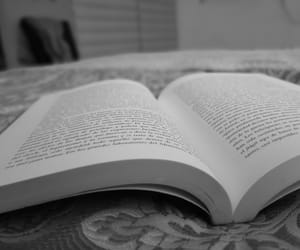 black&white and books image