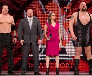 kane, wwe, and stephanie mcmahon image