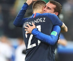 final, football, and france image