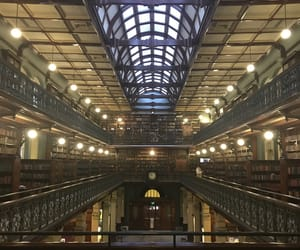 adelaide, pretty, and old library image