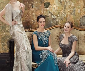 downton abbey, michelle dockery, and dress image