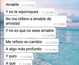 amor, frases en español, and amable image