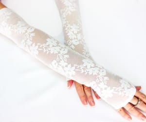 etsy, bridal gloves, and long lace gloves image