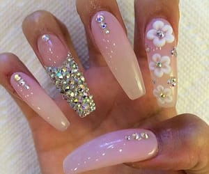 claws, cute, and pink image