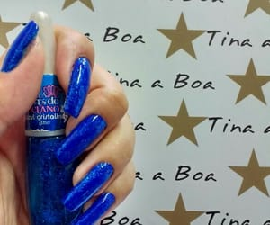 blue, brightness, and long nails image
