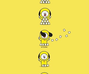bt21, chimmy, and cute image