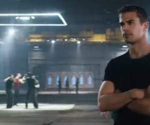 divergent, four, and Hot image