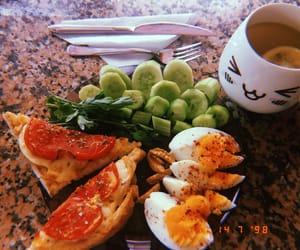 breakfast, diet, and drink image