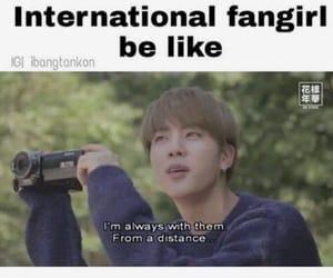 international, jin, and kpop image