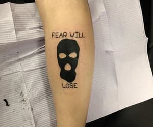 tattoo, twenty one pilots, and fear image