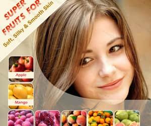 apples, peach, and pomegranates image