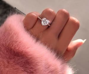 ring, accessories, and heart image