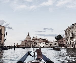 boat, travel, and italy image