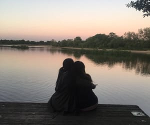 aesthetic, best friend, and best friends image
