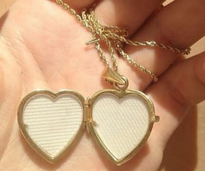 aesthetic, heart, and gold image