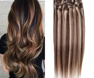 extension and hair image