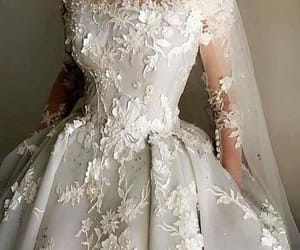 👰, dress, and wedding image