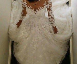 dress, wedding, and 💍 image
