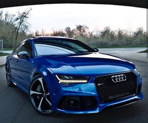 car, audi, and rs7 image