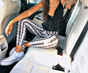 girls, luxury, and sneakers image