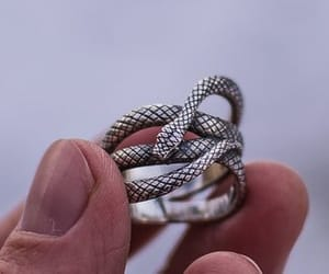 ring, snake, and snakering image