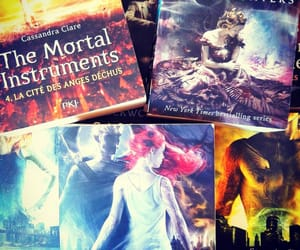 book, themortalinstruments, and books image