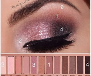 beauty, eye, and eye shadow image