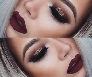 beauty, highlight, and makeup image