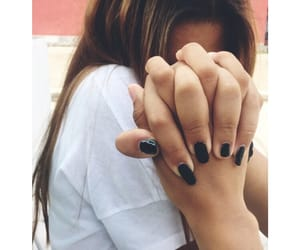 friendship, nails, and tumblr image