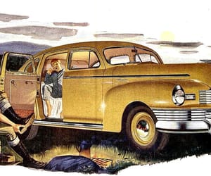 1940s, nash, and classic cars image