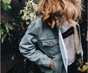aesthetic and denim jacket image