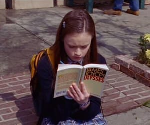 book, gilmore girls, and James Joyce image