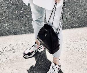 bag, Balenciaga, and chanel image