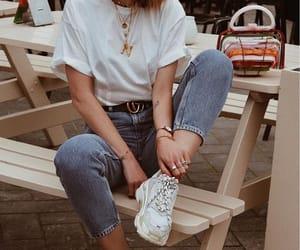 Balenciaga, casual, and denim image