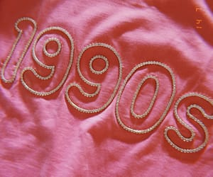 90s, pink, and vintage image