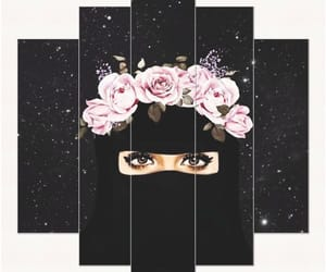 niqab, thoughts, and thought image
