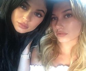 kylie jenner and hailey baldwin image