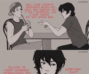 comic, keith, and lance image