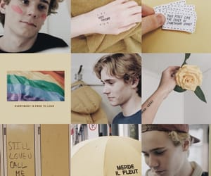 skam, isak, and yellow image