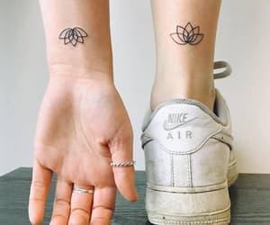 like, nike, and tattoo image