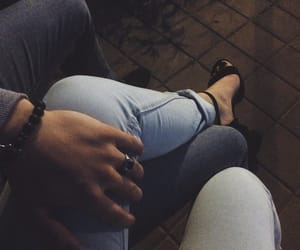 couple, goals, and jeans image