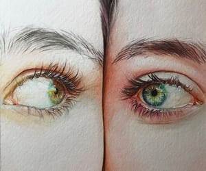 arts, eyes, and bestfriends image