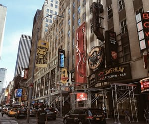 broadway, city, and living image