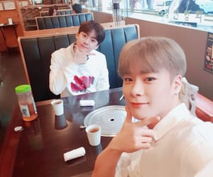 astro, sanha, and moonbin image